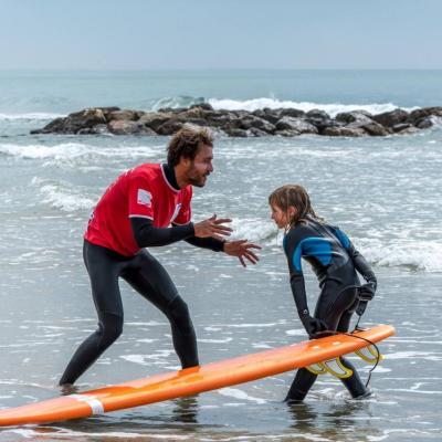 Cours de surf - mediterranée