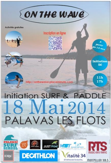 Affiche on the wave idrac