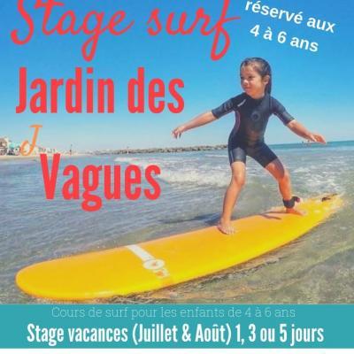 LE JARDIN DES VAGUES (enfants de 4 à 6 ans)