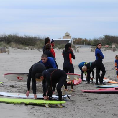 Stage vacance surf